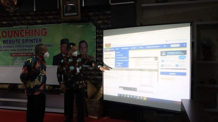 Wakil Wali Kota Lubuklinggau Sulaiman Kohar Launching Aplikasi Sipinter