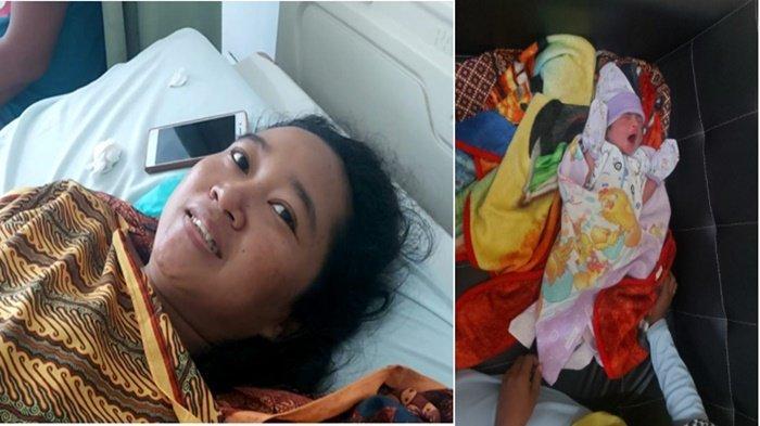 Kisah Apriyanti, Melahirkan Saat RS HM Rabain Muara Enim Terbakar, Lampu Padam Perut Masih Terbelah