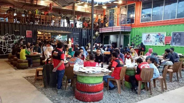 Acara Tahun Baru di Area 51 Indoor Paintball & Cafe Container Palembang Banyak Diskon dan Hiburan