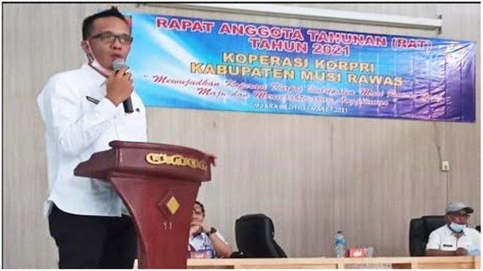 Sebelumnya Aktivis Lingkungan juga Jurnalis, Arief Candra Kini Jabat Ketua Koperasi Korpri Musirawas