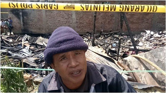 Arsabdi Korban Kebakaran Sementara Tinggal di Rumah Keluarga Sambil Menunggu Adanya Bantuan