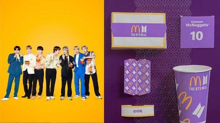 Arti Borahae yang Ada di Kertas BTS MEAL Edisi Terbatas McDonald, Launching Hari Ini Pukul 11