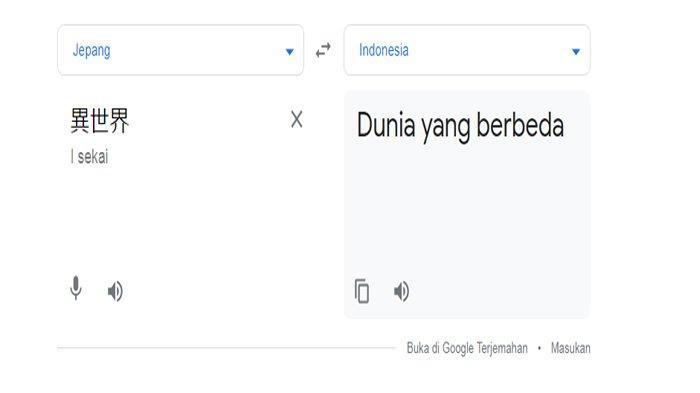 Arti Isekai, Kata yang Jadi Bahasa Gaul Netizen Tanah Air
