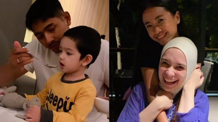 Arya Saloka Boyong Putri Anne Temani Syuting Ikatan Cinta, Video 'Mas Al' Suapi Ibrahim Disoroti