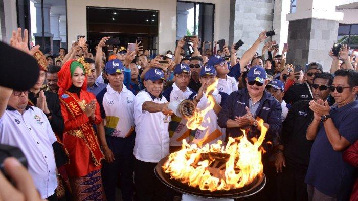 Pastikan Tak Terganggu Kabut Asap, Bupati Iskandar : Hanya Api Asian Games Yang Menyala di OKI