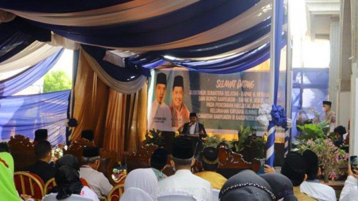 Askolani dan Herman Deru Resmikan Masjid Al-Jihad