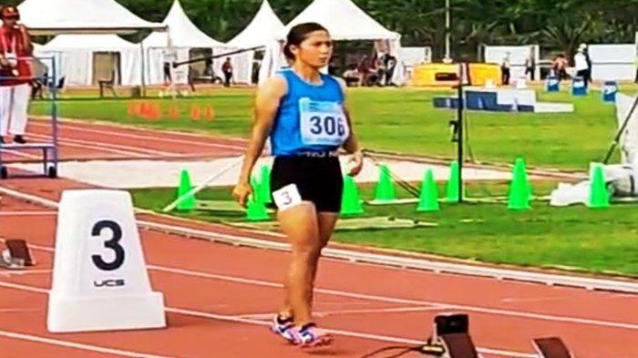 Atlet Sumsel, Sri Mayasari Pecahkan Rekornas Lari 400 Meter Putri yang Sudah Bertahan 37 Tahun