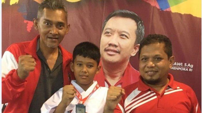 Berangkat dengan Biaya Patungan, Atlet Karate Lemkari OKU Timur Sabet 3 Medali di Piala Menpora 2018