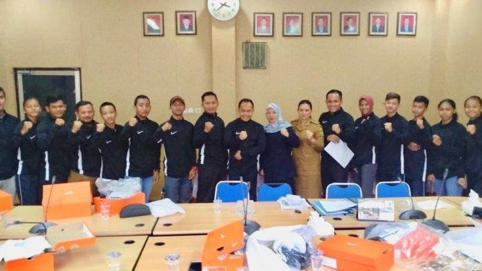 Kadispora Sumsel Lepas Keberangkatan 10 Atlet PPLP Sumsel ke Kejurnas 2019, Targetkan 2 Emas