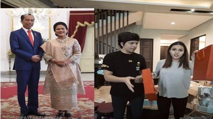 Atta Aurel Terkejut Saat Buka Kotak Oranye Kado Pernikahan dari Jokowi dan Iriana, Tercengang