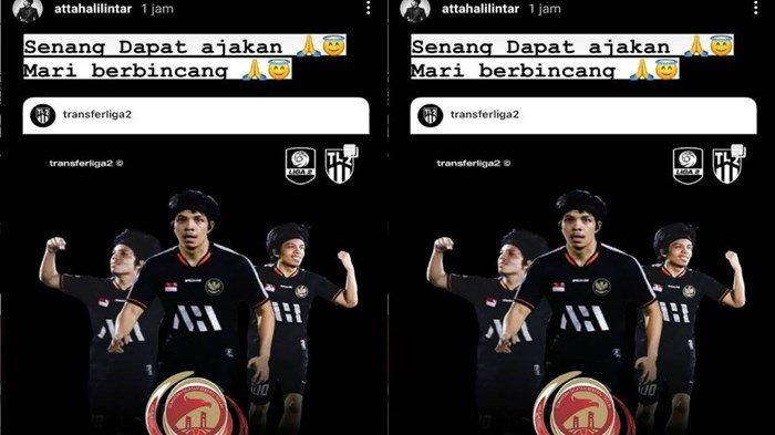 Liga 2 Semakin Menarik, Atta Halilintar Beri Sinyal Ini Diajak Gabung Sriwijaya FC