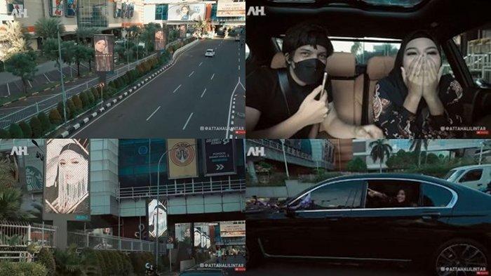 Aurel Hermansyah Kaget dan Malu Lihat Wajah di Billboard Sebagai Kado Kejutan dari Atta Halilintar