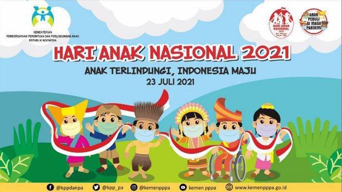 Tema dan Logo Resmi Peringatan Hari Anak Nasional (HAN) 2021, Ini Sejarahnya
