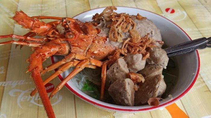 Bakso Lobster Pertama di Palembang Ada diBakso Jawara, Bahan Baku Didatangkan dari Kalimantan