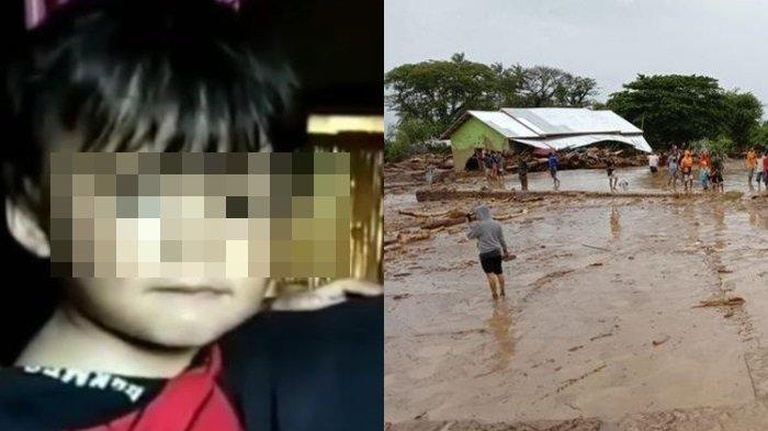 'Opa, Opa, Opa', Suara Balita di Kubangan Air Panggil Kakek, Lepas dari Pelukan Ibu saat Bencana NTT