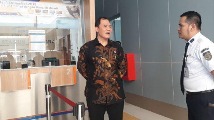 Anggota DPR RI Bambang Haryo Soekartono Kritik Penggunaan Uang Elektronik LRT Palembang