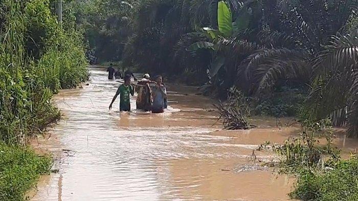Sungai Lakitan dan Sungai Baal di Musi Rawas Meluap, Sejumlah Desa Terendam Banjir