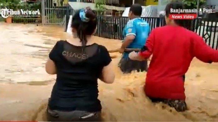 TRENDING Tagar #KalselJugaIndonesia saat Kalimantan Selatan Dilanda Banjir Besar : Tolong Bantu Kami
