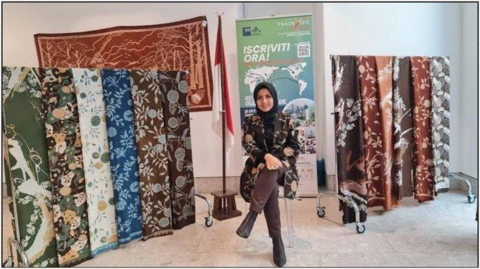 Tampil di Milan Fashion Week (MFW), Batik Durian Produk Andalan Lubuklinggau Mulai Banjir Pesanan
