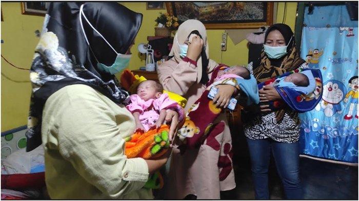 Bayi Kembar 3 Lahir di Tebing Tinggi Empat Lawang, Ibu Meninggal Melahirkan, Dirawat Ayah dan Nenek