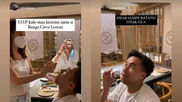 BCL Jadi Sorotan, Nekat Swab Sendiri Teman-temannya Sampai Kesakitan, Vidi Aldiano : Jahat Banget!