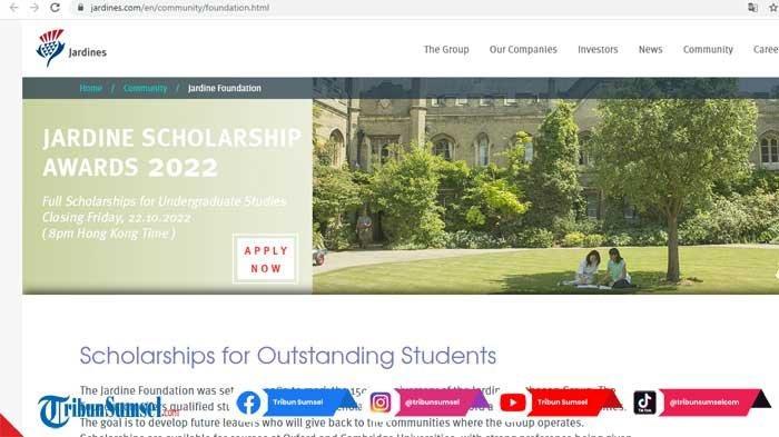 Beasiswa Kuliah S1 di Oxford University dan Cambridge University, Biaya Penuh Termasuk Bea Hidup