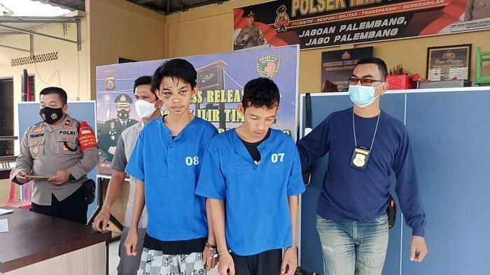 Butuh Uang Rp 300 ribu Untuk Pulang ke Lubuklinggau, Dua Pria Nekat Begal Ojol di Palembang