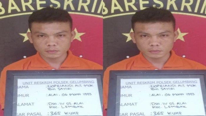Begal Pasutri Pakai Senpi di Muaraenim Lalu  Buron 2 Tahun, Nopriandi Pasrah Dibekuk Polisi