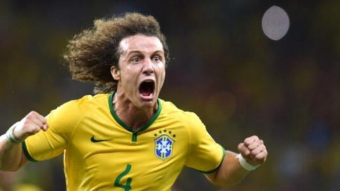 Bek tim nasional Brasil, David Luiz.