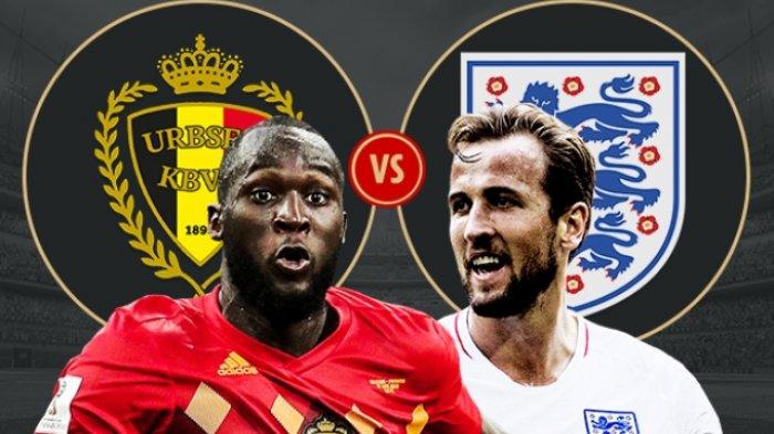 Live Streaming Perebutan Tempat Ketiga Piala Dunia, Belgia Vs Inggris, Ini Caranya Nonton di HP