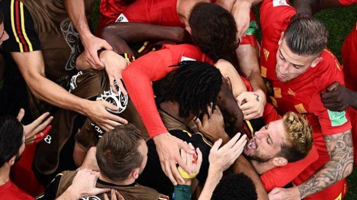 Hasil Piala Dunia 2018 - Belgia Balikkan Ketinggalan 2 Gol dari Jepang dan Lolos ke Perempat Final