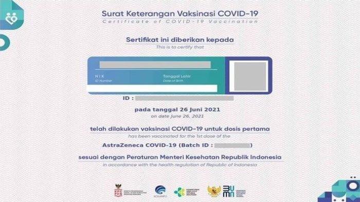 Pesan Bulan Ini dan Tunjukkan Sertifikat Vaksin Covid-19 Dapat Tambahan Bonus Rp 1 Juta