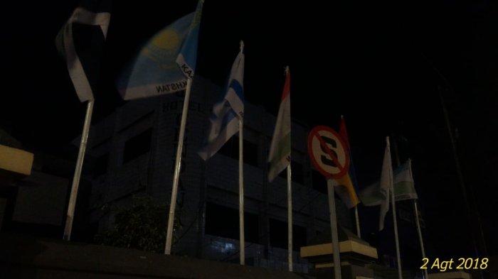 BREAKING NEWS: Bendera Israel Berkibar di Barisan Bendera Peserta Asian Games di Palembang