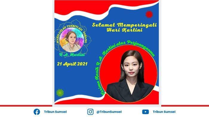Berikut Cara membuat template filter foto 'Selamat Hari Kartini