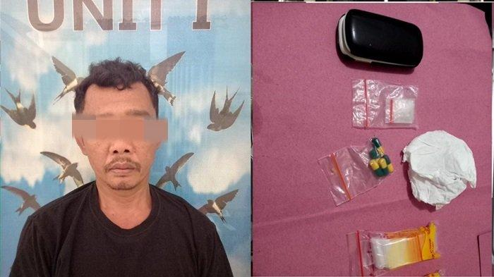 Simpan Narkoba dalam Kapsul, Pria asal Desa Karang Ayar Lahat Diringkus Polisi