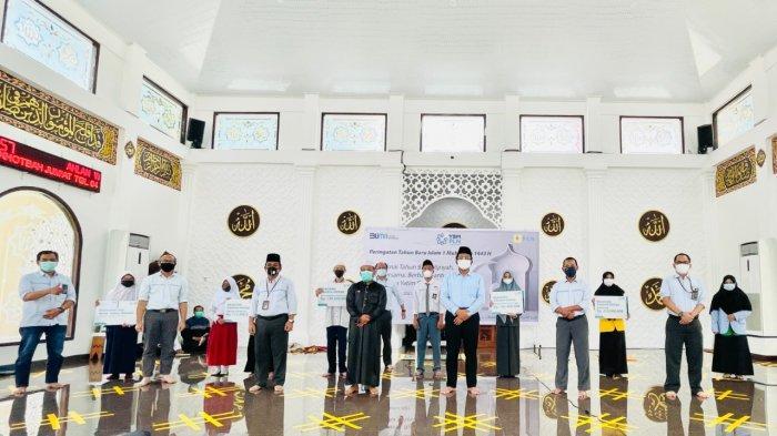 Peringatan Tahun Baru Hijriah, PLN UIW S2JB Salurkan Santunan & Beasiswa Untuk Yatim & Dhufa