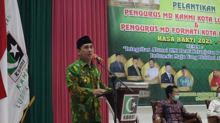 Walikota Lubuklinggau Hadiri Acara Pelantikan Pengurus KAHMI dan MD FORHATI
