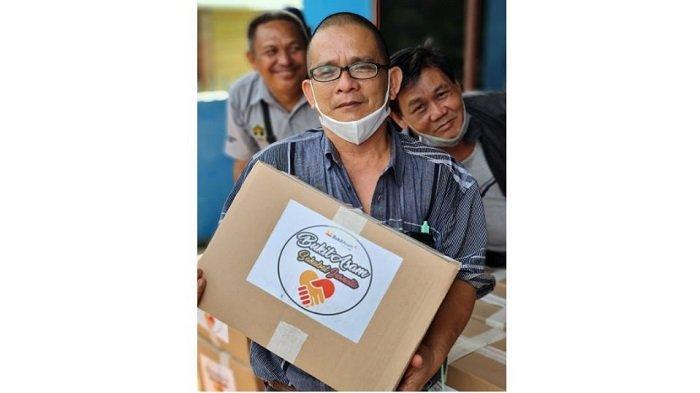 Jelang Ramadhan, Humas PTBA Tbk Sambangi Rumah Jurnalis PWI Muara Enim