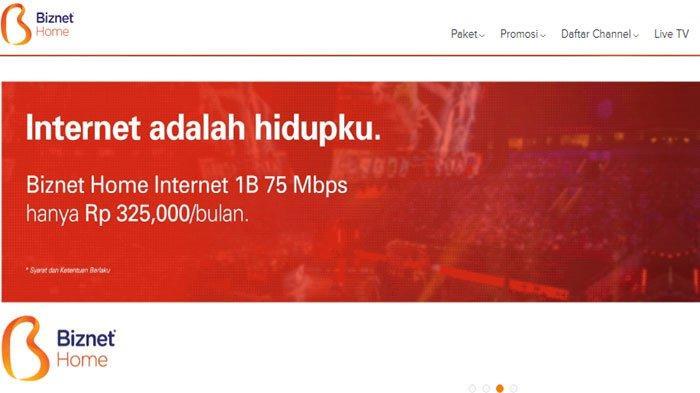 Daftar Paket Wifi Rumahan Murah Dan Cepat 2020 Rasakan Sensasi Sinyal Kuat Anti Lag Halaman 2 Tribun Sumsel