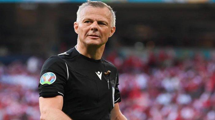 Bjorn Kuipers Wasit Inggris Vs Italia di Final Euro 2020, Ini Pertandingan Pernah Dipimpinnya