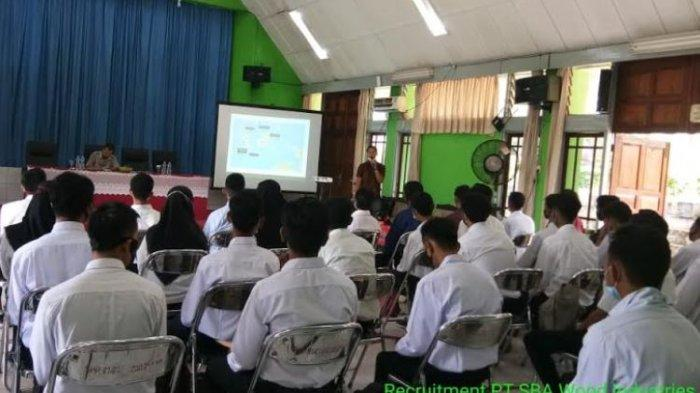 PT SBA Wood Industries Kerjasama BKK SMKPP Negeri Sembawa Gelar Rekrutmen Supervisor Plantation