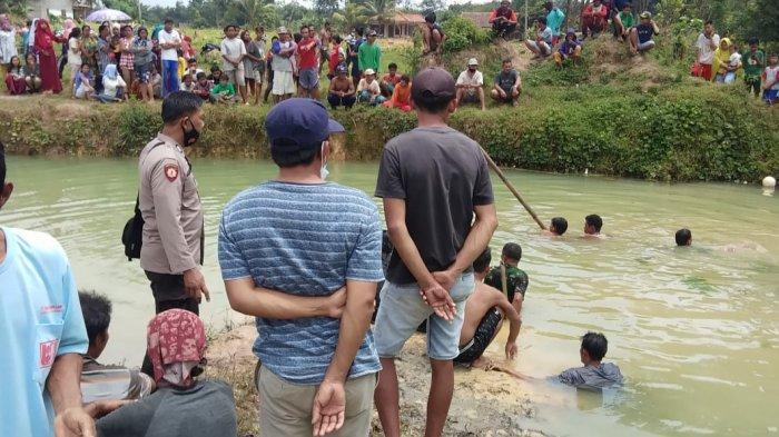 Breaking News: Bocah 11 Tahun Tewas Tenggelam di Bekas GalianBanyuasin