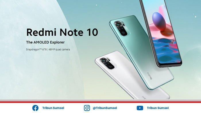 Bocoran Harga & Spesifikasi Redmi Note 10 Pro dan Redmi Note 10, Dibekali Layar AMOLED Full HD Plus
