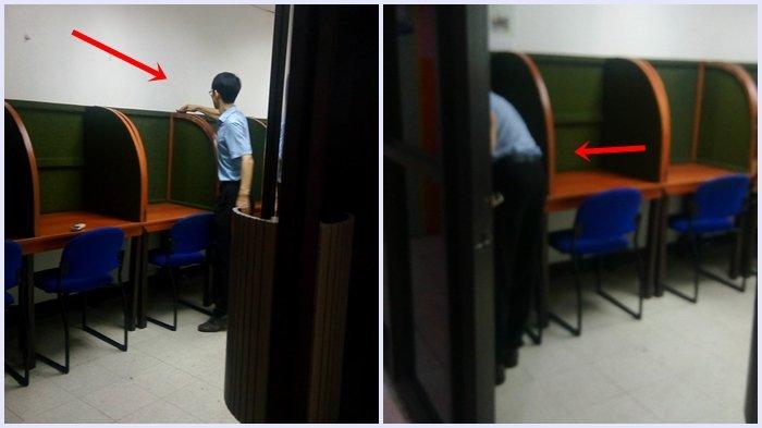 Pria Ini Tertinggal Sesuatu di Kantor, Tak Disangka saat Kembali Ia Melihat bosnya Sedang Beginian