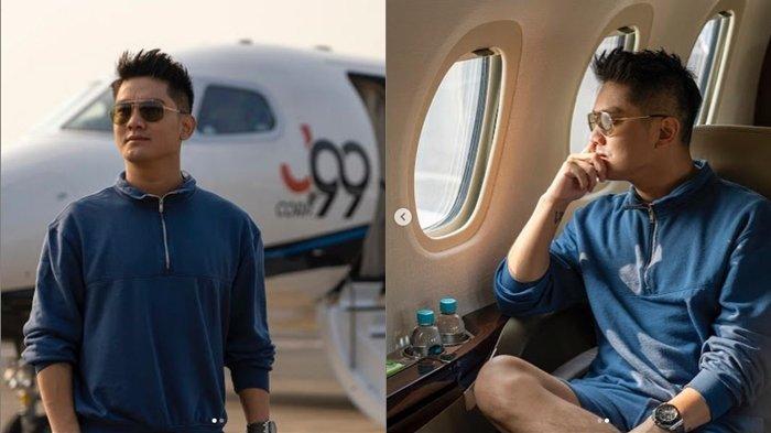 Unggah Foto di Jet Pribadi Crazy Rich Malang, Boy William Sindir Artis Sok Kaya? Disindir Balik