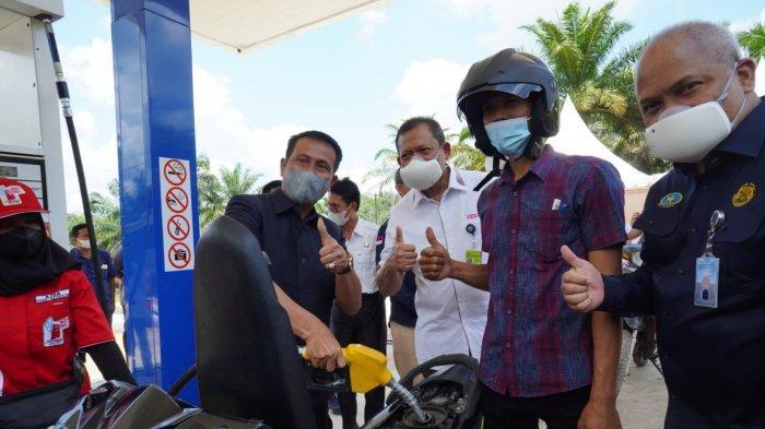 Wujudkan BBM 1 Harga, Pertamina Patra Niaga Kembali Resmikan Lembaga Penyalur di Muba