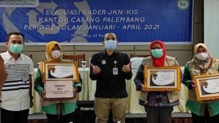 BPJS Kesehatan Palembang Lakukan Evaluasi Kinerja Kader JKN