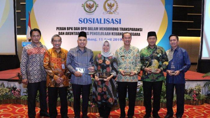 Berita Palembang: BPK RI Apresiasi Pengelolaan Keuangan Pemerintah Kota Palembang