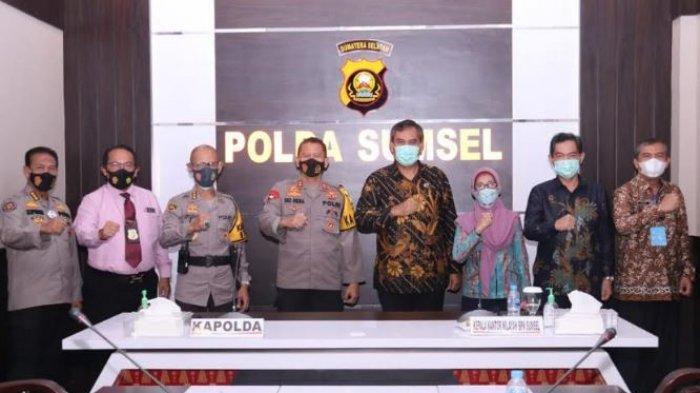 Berantas Mafia Tanah, BPN Sumsel Tingkatkan Koordinasi dengan Polda Sumsel