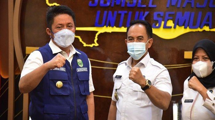 Herman Deru dan Brigjen Djoko Prihadi Sepakat Berantas Peredaran Narkoba di Sumsel